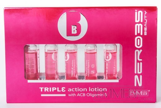 Zer035 Beauty Triple action lotion with ACB Oligomin 5